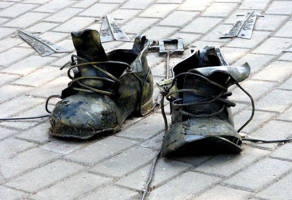 ботинки безымянного датчика