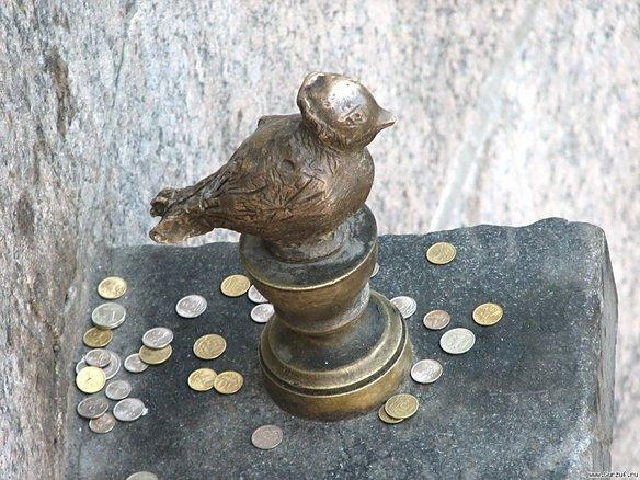 памятник чижику петербург